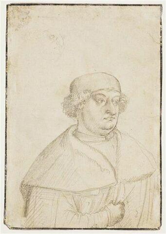 Portrait de l'évêque Friedrich von Hohenzollern