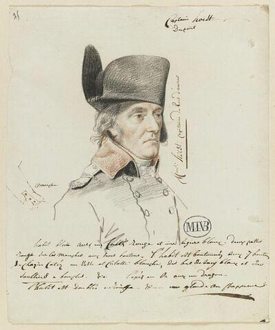 Portrait de Hoest, capitaine du port d'Anvers