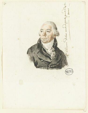 Le procureur Dilens, membre du Conseil Général du Département à Anvers