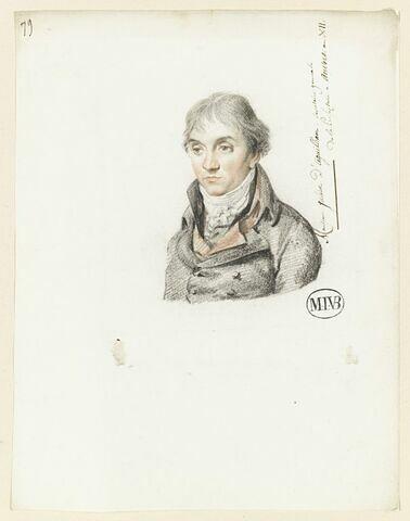 J. d'Aguilham, secrétaire général de la Préfecture à Anvers