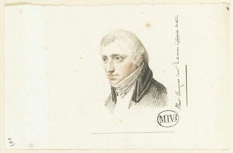Bourceret, secrétaire de la mairie à Anvers