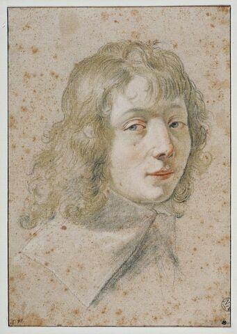 Portrait de jeune homme, de trois quarts à droite