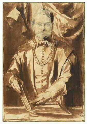 Portrait de Théodore van Thulden, professeur à Louvain
