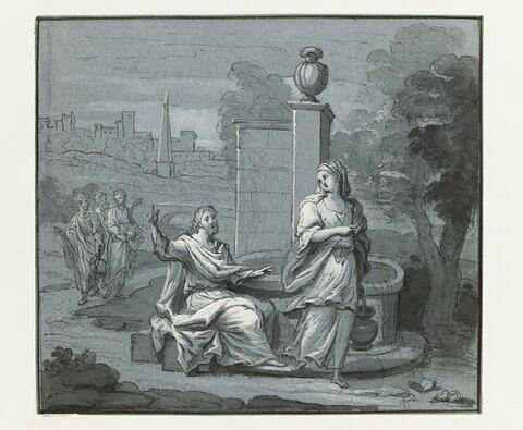 Le Christ et la Samaritaine au puits