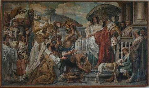 Hommage du calife Haroun Al Raschid à Charlemagne