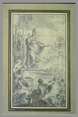 Prédication d'un évêque