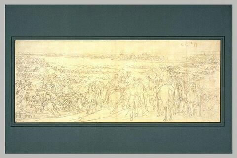 Le passage du Rhin, 12 juin 1672