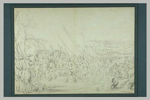 La ville de Doesburg faisant sa soumission à Louis XIV, 21 juin 1672