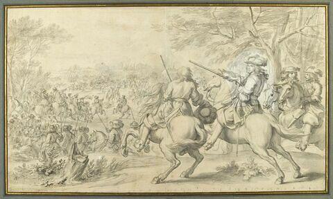 Défaite de l'armée espagnole près du canal de Bruges, 31 août 1667
