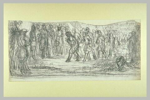 La ville de Doesburg faisant sa soumission à Louis XIV, le 21 juin 1672
