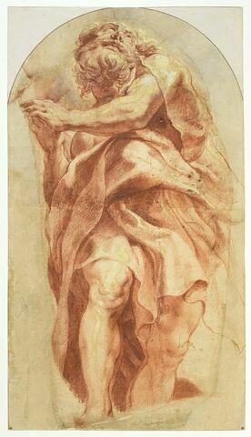 Apôtre debout, vu de face