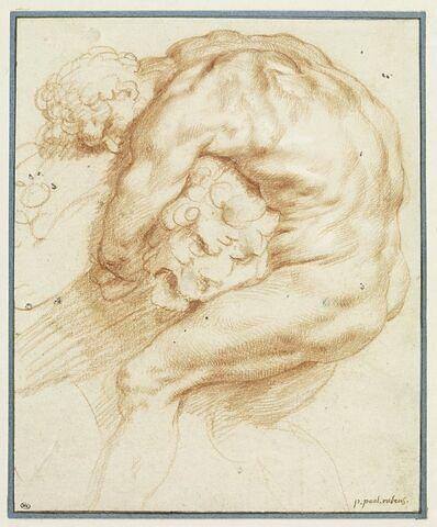 Hercule combattant le lion de Némée