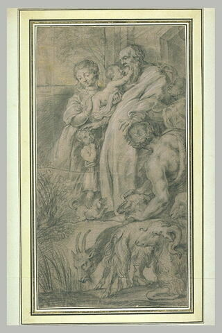 Patriarche et ses petits-enfants