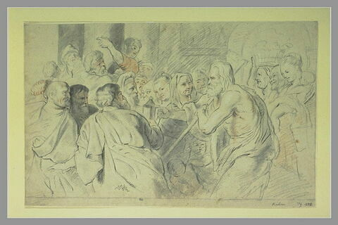 Diogène cherchant un homme
