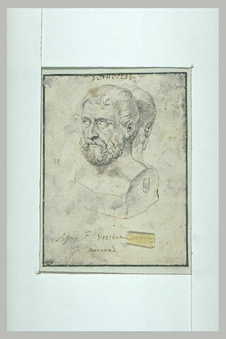 Double buste de Sophocle