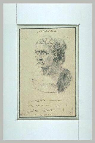 Double buste de Ménandre