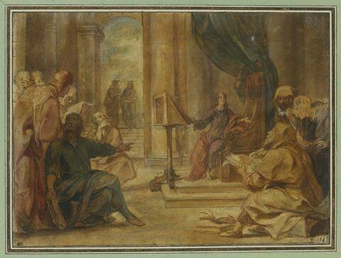 Jésus enfant au milieu des docteurs