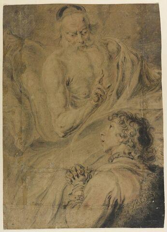 Isaac bénissant Jacob