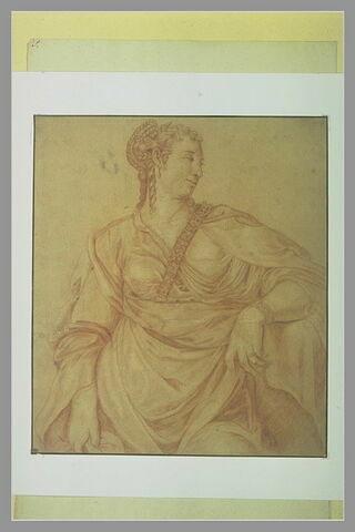 L'impératrice Agrippine, épouse de Tibère