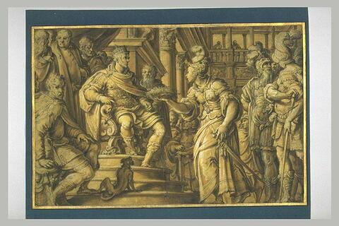 Philippe II recevant l'hommage de Malte