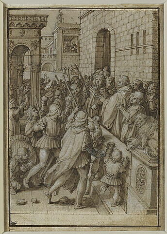 Saint Jean Gualbert accuse l'abbé de San Miniato de simonie