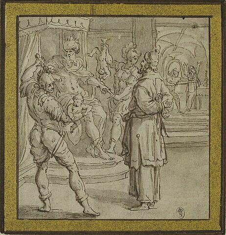 Zacharie devant Hérode