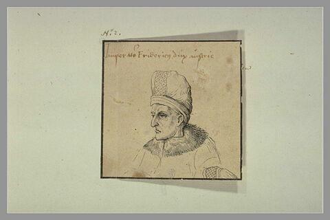 Portrait de Frédéric V, empereur d'Autriche