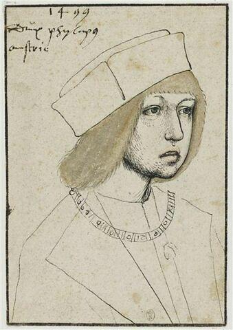 Philippe le Beau, archiduc d'Autriche, à l'âge de vingt et un ans