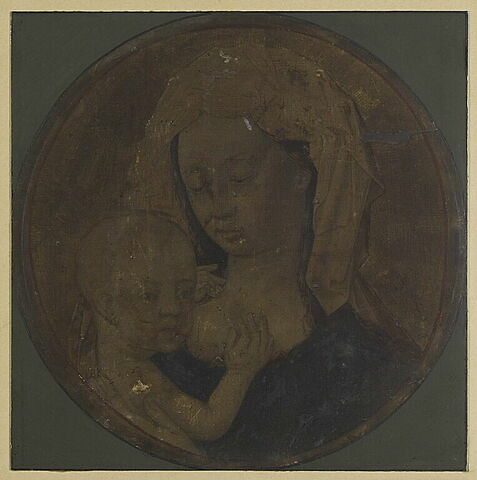 La Vierge allaitant l'Enfant