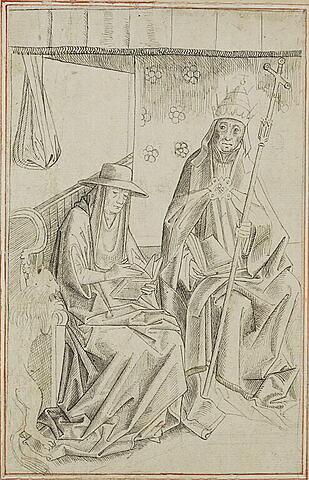 Saint Grégoire le Grand et saint Jérôme