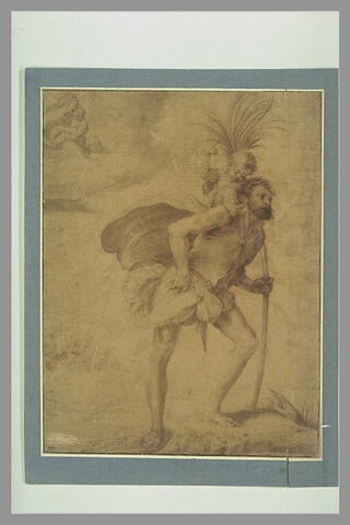Saint Christophe portant l'Enfant Jésus