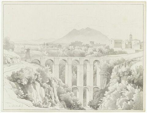 Vue du viaduc de Civita Castellana
