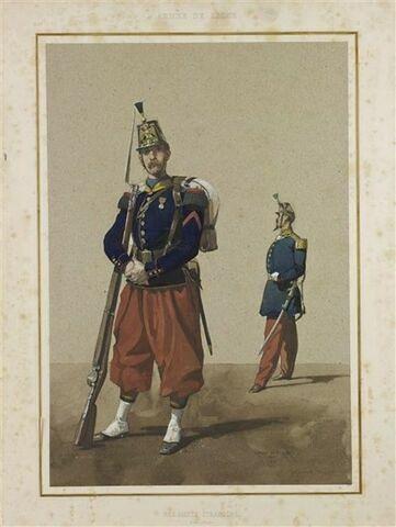 Régiment étranger ; soldat et officier
