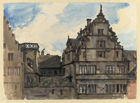 La Maison de l'Oeuvre Notre-Dame à Strasbourg