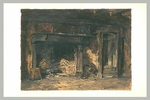 Intérieur de ferme à Varengeville
