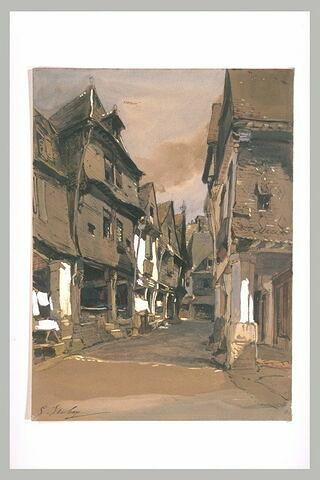 Une rue à Vitré