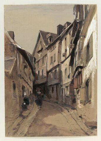 Une rue à Morlaix