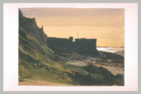 Remparts et poudrière à Saint-Malo