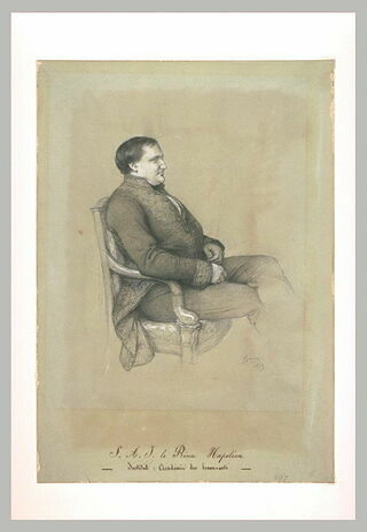Portrait de S.A.I. le prince Napoléon