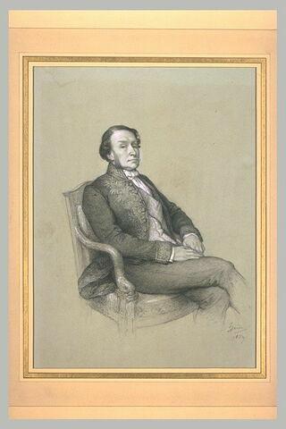Portrait de M. Achille Fould