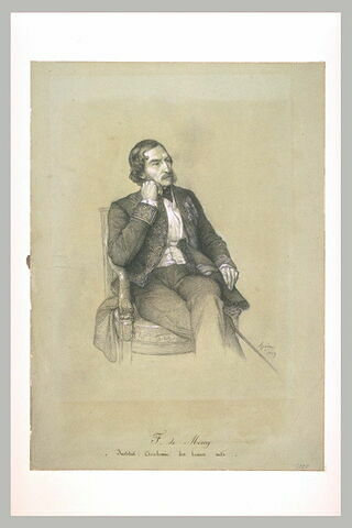 Portrait de M. de Mercey