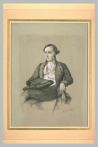 Portrait de M. Lesueur