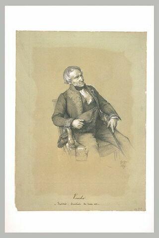 Portrait de M. Couder