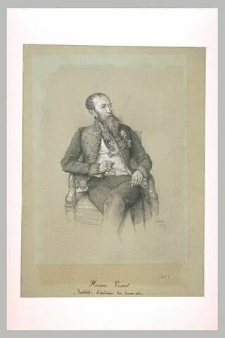 Portrait de M. Vernet