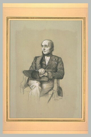 Portrait de Monsieur Gilbert