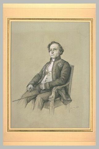 Portrait de Monsieur Dumas de l'Académie des Sciences