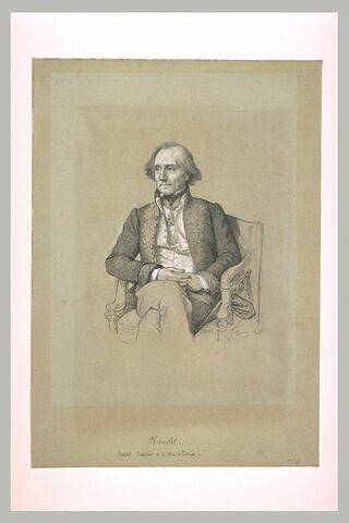 Portrait de Mr Naudet de l'Académie des Inscriptions et des Belles Lettres