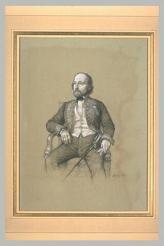 Portrait de Charles Sainte-Claire Deville de l'Académie des Sciences