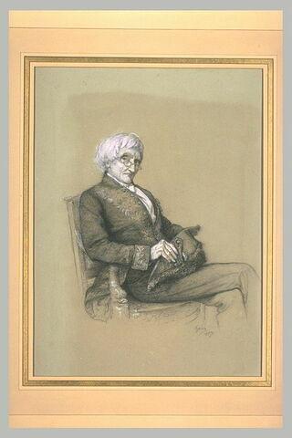Portrait de M. Duméril de l'Académie des Sciences