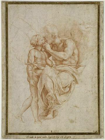Jupiter embrassant l'Amour